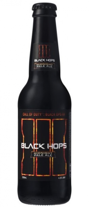 Black Hops Midnight Pale Ale by Black Hops Brewing in Queensland, Australia