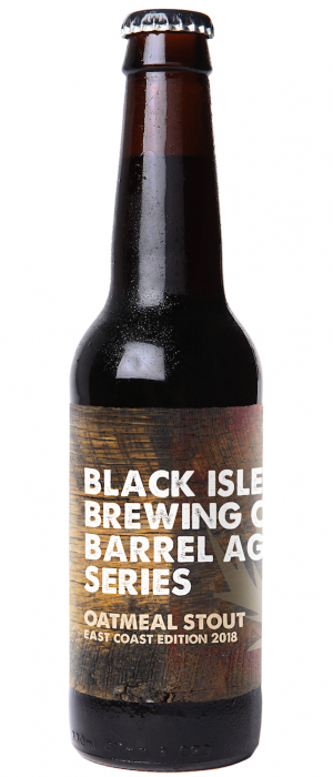 Barrel Aged Series Oatmeal Stout East Coast Edition 2018 by Black Isle Brewery in Cromartyshire - Scotland, United Kingdom