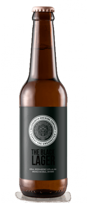 The Black Lager by Silversmith Brewing Company in Ontario, Canada