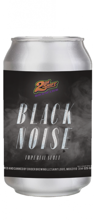 Black Noise by 2nd Shift Brewing in Missouri, United States