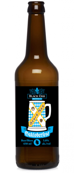 Oaktoberfest by Black Oak Brewing Company in Ontario, Canada