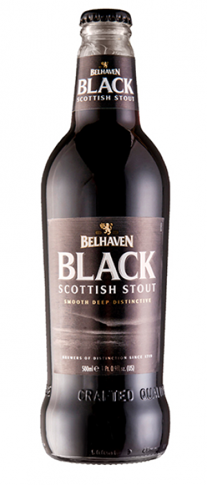Black Scottish Stout by Belhaven Brewery in East Lothian - Scotland, United Kingdom