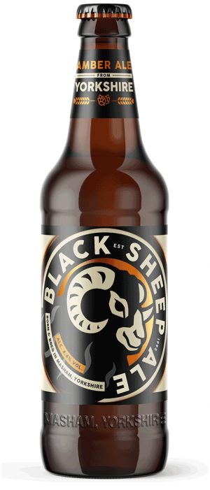 Black Sheep Ale by Black Sheep Brewery in North Yorkshire - England, United Kingdom