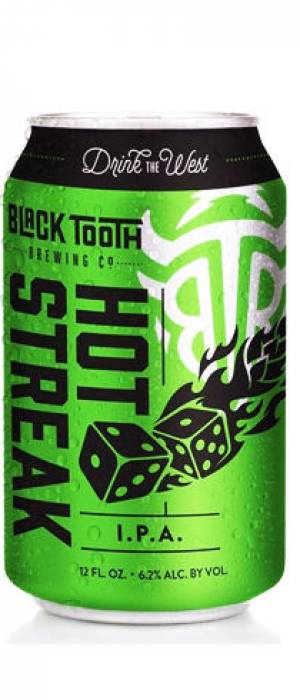 Hot Streak IPA by Black Tooth Brewing Company in Wyoming, United States