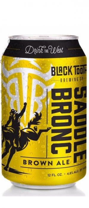 Saddle Bronc Brown by Black Tooth Brewing Company in Wyoming, United States