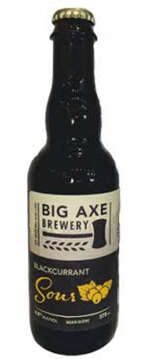 Blackcurrant Sour by Big Axe Brewery in New Brunswick, Canada