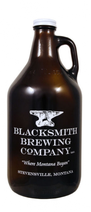 Brickhouse Blonde by Blacksmith Brewing Company in Montana, United States
