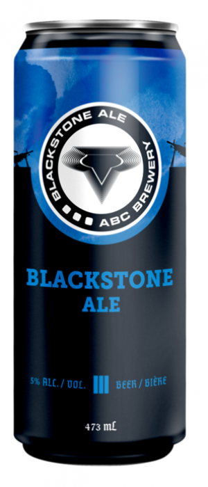 Blackstone Ale by Ashton Brewing Company in Ontario, Canada