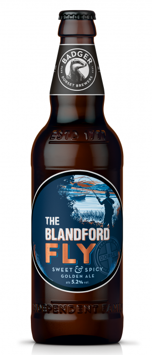 The Blandford Fly by Hall & Woodhouse (Badger Ales) in Dorset - England, United Kingdom