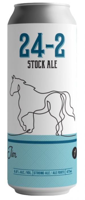 24-2 Stock Ale by Blindman Brewing in Alberta, Canada