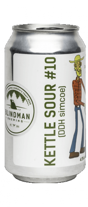 Kettle Sour #10 by Blindman Brewing in Alberta, Canada