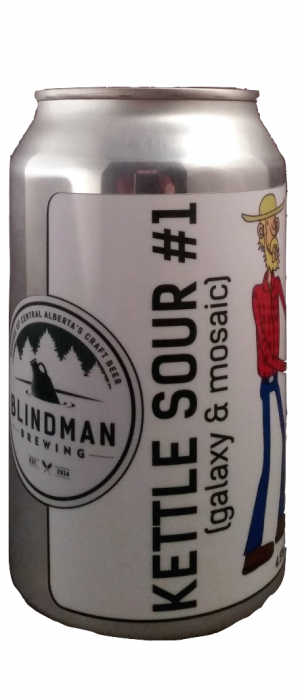 Kettle Sour #1 by Blindman Brewing in Alberta, Canada