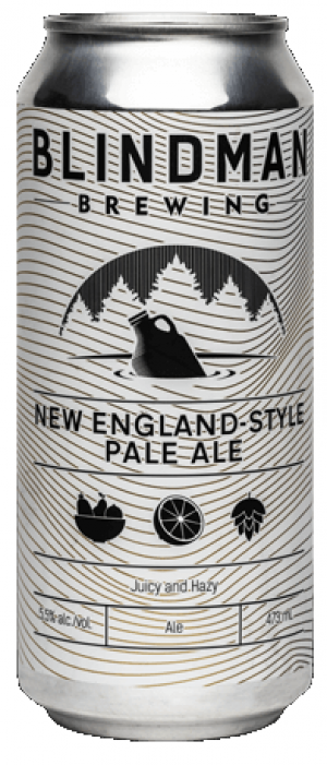 New England-Style Pale Ale (NEIPA) by Blindman Brewing in Alberta, Canada