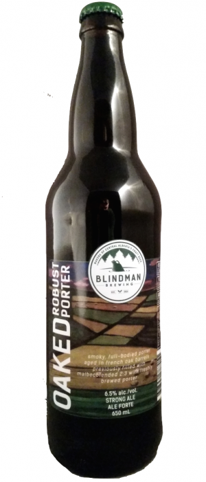 Robust Porter by Blindman Brewing in Alberta, Canada