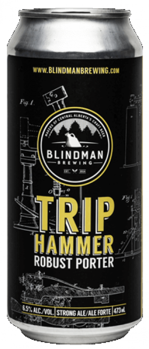 Triphammer Robust Porter by Blindman Brewing in Alberta, Canada