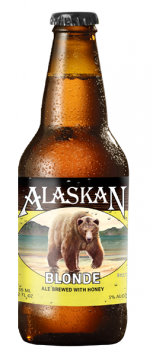 Blonde by Alaskan Brewing Company in Alaska, United States