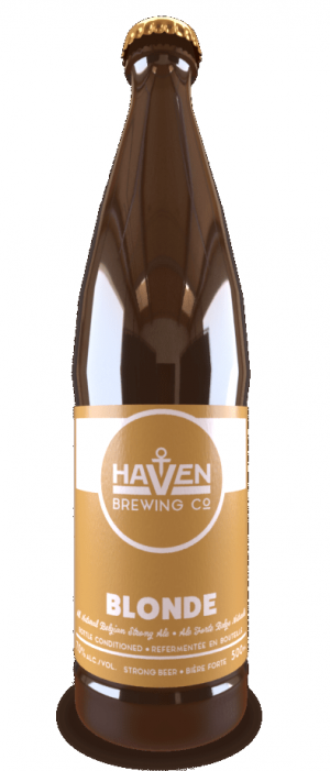 Blonde by Haven Brewing Co. in Ontario, Canada
