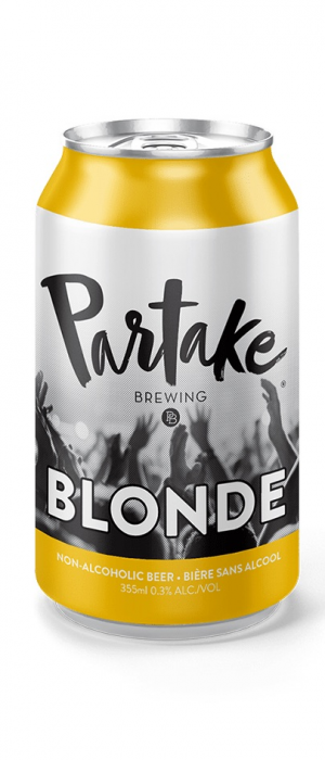 Blonde by Partake Brewing in Ontario, Canada