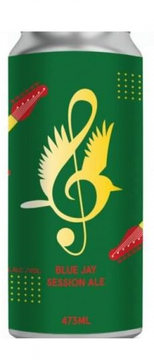 Blue Jay Session Ale by Russell Brewing Company in British Columbia, Canada
