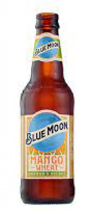 Blue Moon Mango Wheat by Molson Coors in Colorado, United States