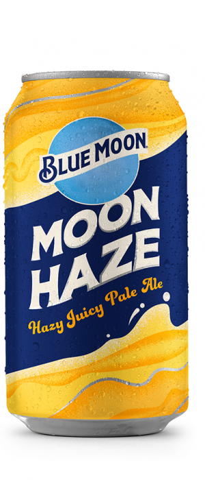 Blue Moon Moon Haze Pale Ale by Molson Coors in Colorado, United States