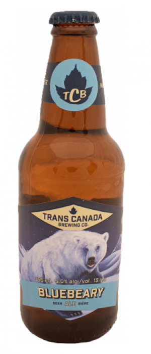 Bluebeary Ale by Trans Canada Brewing Co. in Manitoba, Canada