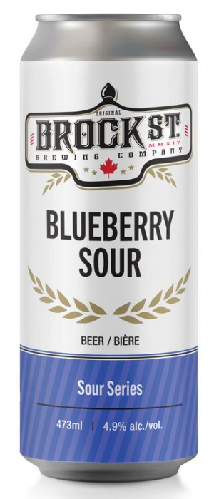 Blueberry Sour by Brock St. Brewing Company in Ontario, Canada