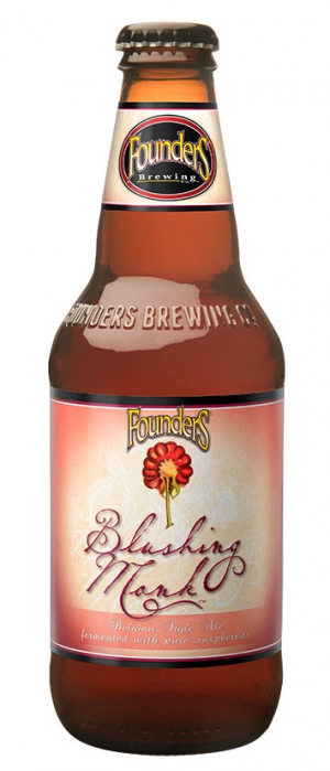 Blushing Monk by Founders Brewing Company in Michigan, United States