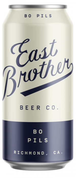 Bo Pils by East Brother Beer Company in California, United States
