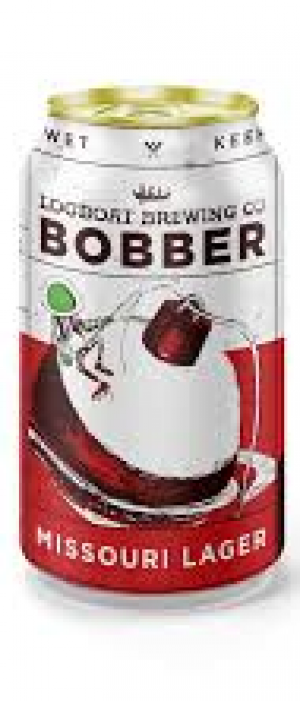 Bobber Missouri Lager by Logboat Brewing Company in Missouri, United States
