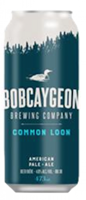 Common Loon IPA by Bobcaygeon Brewing Company in Ontario, Canada
