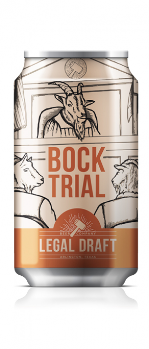 Bock Trial by Legal Draft Beer Co. in Texas, United States
