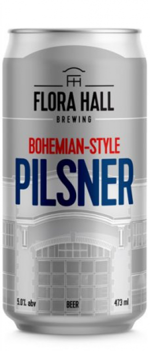 Bohemian-Style Pilsner by Flora Hall Brewing in Ontario, Canada
