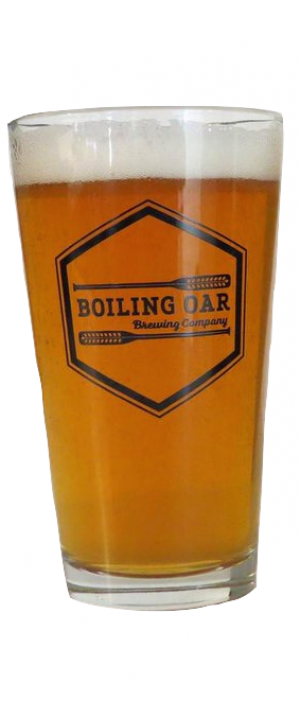 Pale Ale by Boiling Oar Brewing Company in Alberta, Canada