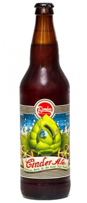 Cinder Ale by Bomber Brewing in British Columbia, Canada
