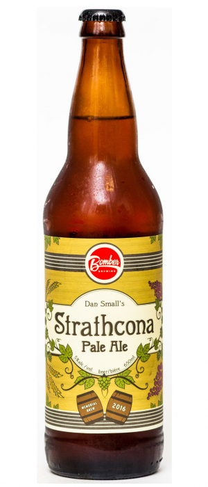 Dan Small's Strathcona Pale Ale by Bomber Brewing in British Columbia, Canada