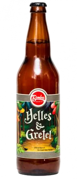 Helles & Gretel by Bomber Brewing in British Columbia, Canada
