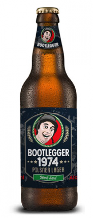 Bootlegger 1974 by Wrexham Lager in Clwyd - Wales, United Kingdom