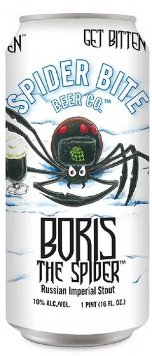 Boris the Spider by Spider Bite Beer Co. in New York, United States