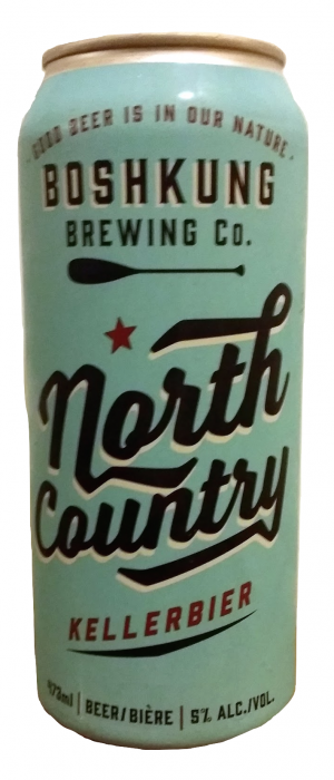 North Country by Boshkung Brewing Company in Ontario, Canada