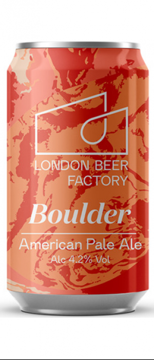 Boulder by London Beer Factory in London - England, United Kingdom