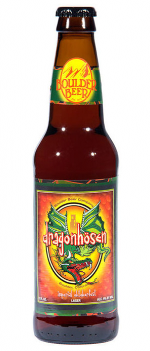 Dragonhosen Imperial Oktoberfest by Boulder Beer Company in Colorado, United States