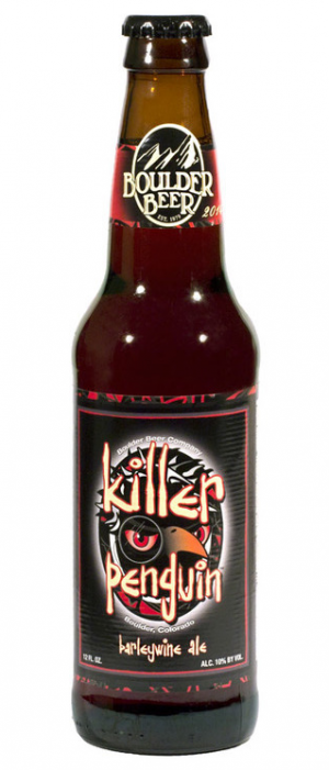 Killer Penguin Barleywine by Boulder Beer Company in Colorado, United States