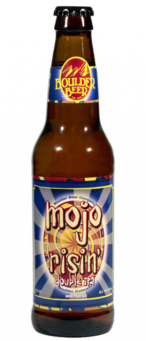 Mojo Risin' Double IPA by Boulder Beer Company in Colorado, United States
