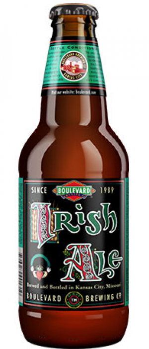 Irish Ale by Boulevard Brewing Company in Missouri, United States