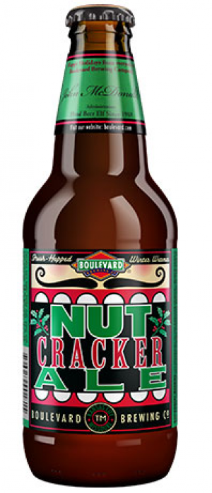 Nutcracker Ale by Boulevard Brewing Company in Missouri, United States