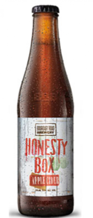 Honesty Box Apple Cider by The Boundary Road Brewery in Auckland, New Zealand