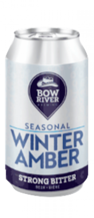 Winter Amber by Bow River Brewing in Alberta, Canada