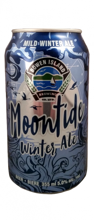 Moontide Winter Ale by Bowen Island Brewing in British Columbia, Canada