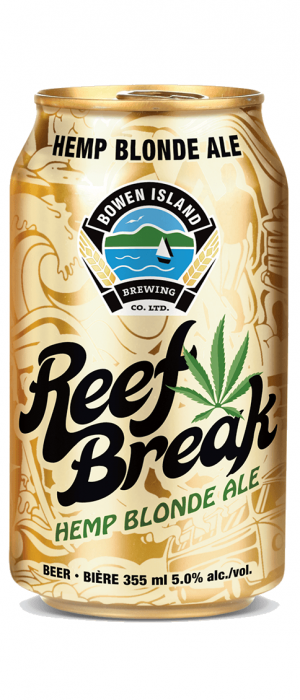 Reef Break Hemp Blonde Ale